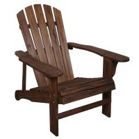 Leigh Country Charred Wood Patio Adirondack Chair-TX 94056 ...