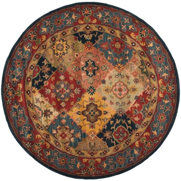6 FT Round Area Rugs