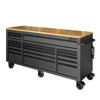 Husky 72 in. 18-Drawer Mobile Workbench with Adjustable ...