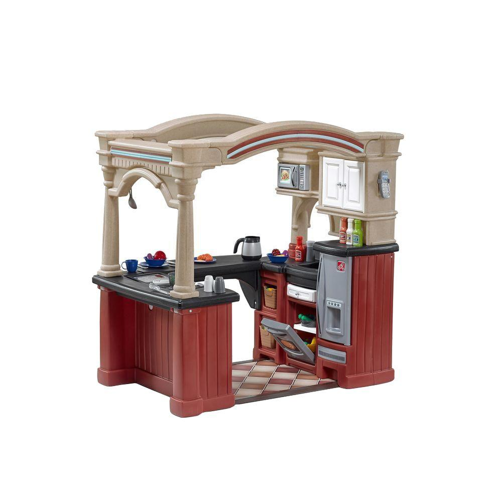 Step2 Grand WalkIn Kitchen Playset8562KR  The Home Depot