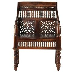 Wood Hand Chair Step Ups Home Decorators Collection Maharaja Walnut Carved Arm