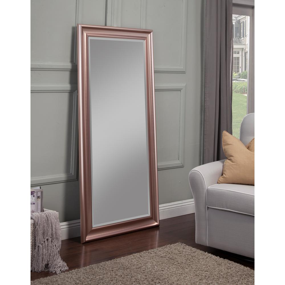 Sandberg Furniture Rose Gold Full Length Leaner Floor Mirror14611  The Home Depot