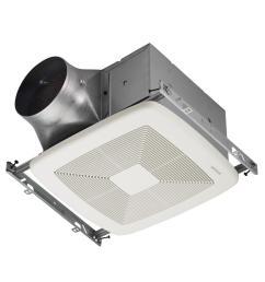 ultra green zb series 80 cfm multi speed ceiling bathroom exhaust fan energy star  [ 1000 x 1000 Pixel ]