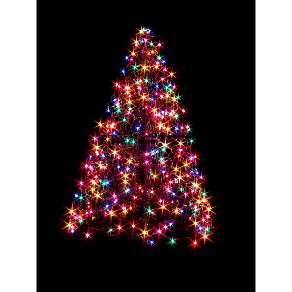 Led Christmas Tree Lights Home Depot