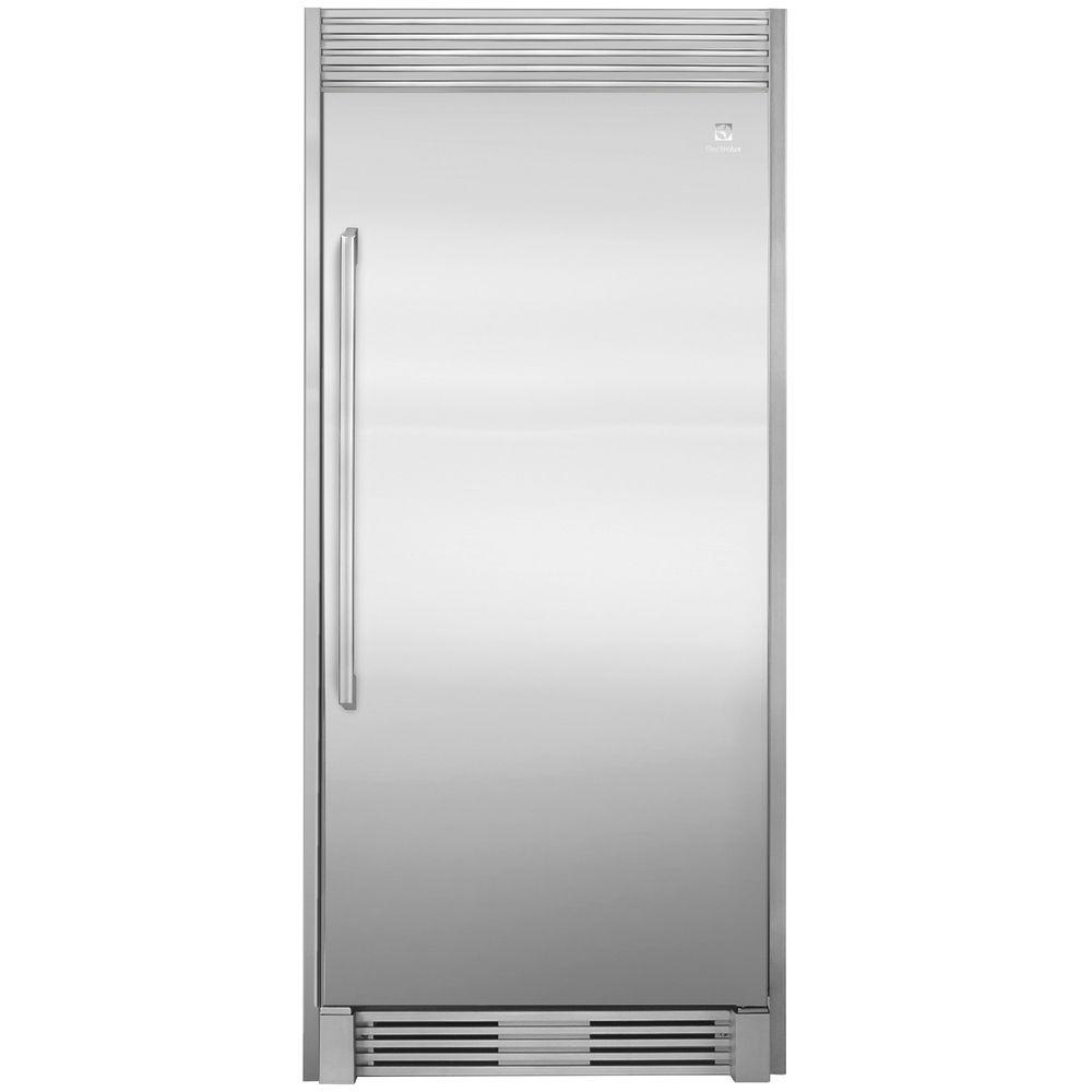 hight resolution of electrolux 79 in single louvered trim kit for all refrigerator or all freezer in stainless