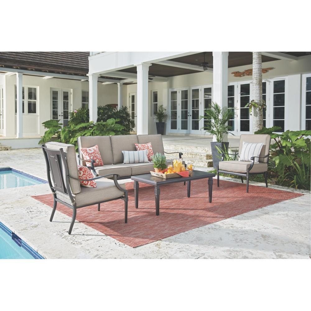 dunham sofa living room images with red home decorators collection manor 4 piece all weathered metal deep seating set