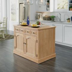 Pictures Of Kitchen Islands Mid Century Modern Cabinets Carts Utility Tables The Home Depot Cambridge White Washed Natural Island With Wood Top