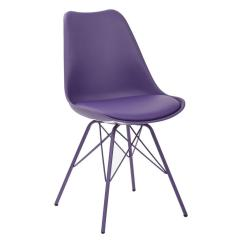 Lilac Office Chair Christmas Plaid Covers Ave Six Emerson Purple Student Side Ems26g 512 The Home Depot