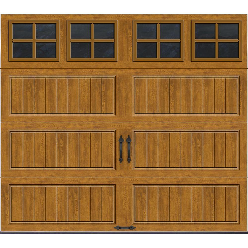 Clopay Gallery Collection 8 ft x 7 ft 65 RValue Insulated UltraGrain Medium Garage Door