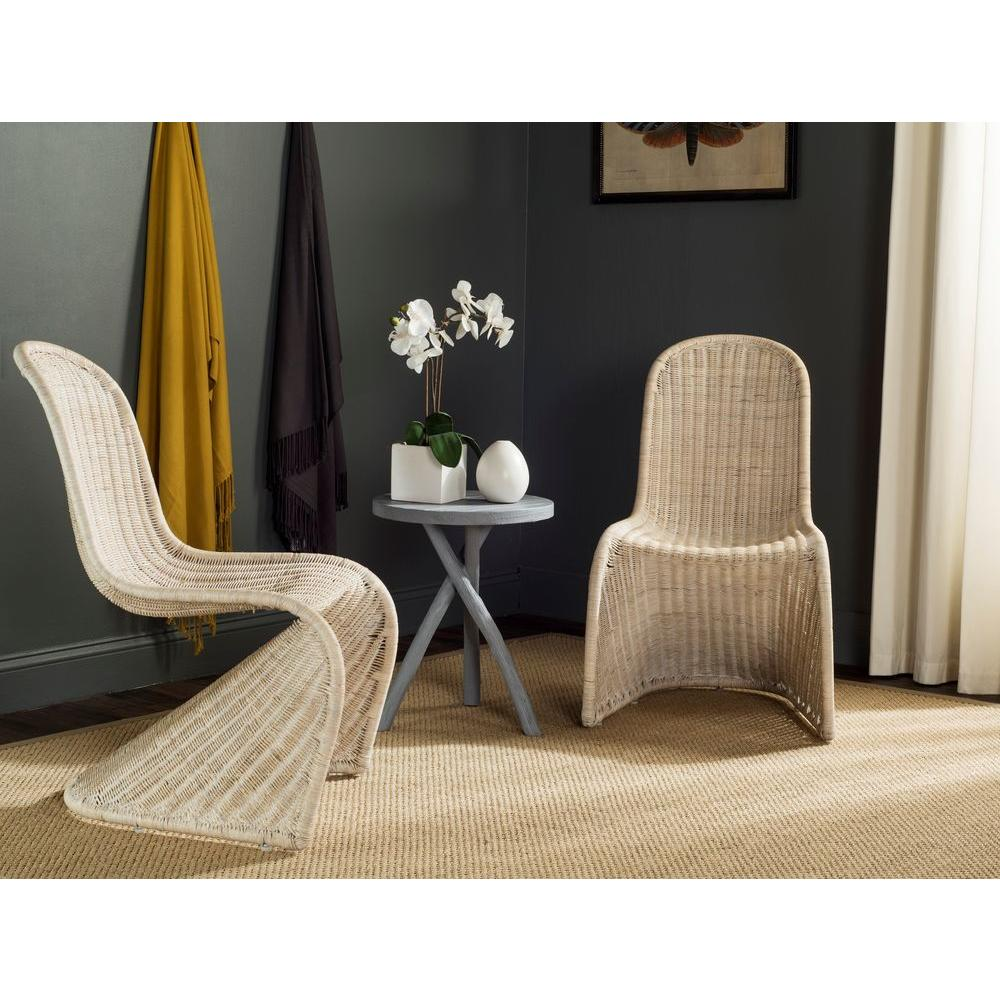 panton chair review high for twins safavieh tana grey rattan dining set of 2 sea8009a set2 write a