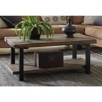 Alaterre Furniture Pomona Rustic Natural Coffee Table ...