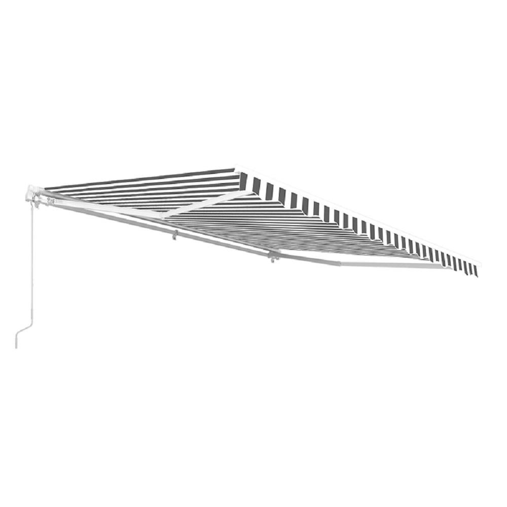 ALEKO 12 ft. Manual Patio Retractable Awning (120 in