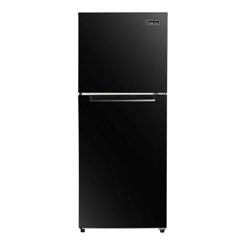 small resolution of top freezer refrigerator in black