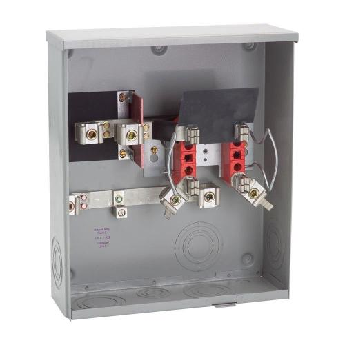 small resolution of milbank 200 amp ringless underground meter socket r1980 o kk aep meter base wiring to breaker box milbank meter base wiring diagram