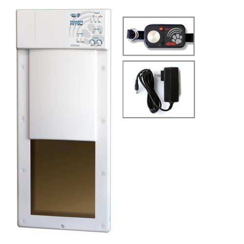 small resolution of power pet large electronic fully automatic dog and cat electric pet door for pets up to 100 lb