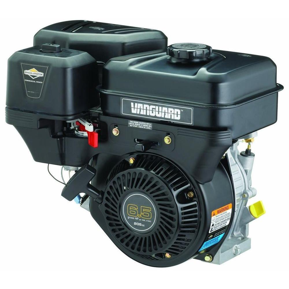 medium resolution of 6 5 hp gross horizontal vanguard gas engine