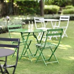 Green Metal Bistro Chairs Office Chair Big And Tall Home Decorators Collection Follie 3 Piece Outdoor Patio Set