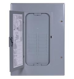 ge powermark gold 125 amp 12 space 12 circuit 3 phase indoor main [ 1000 x 1000 Pixel ]