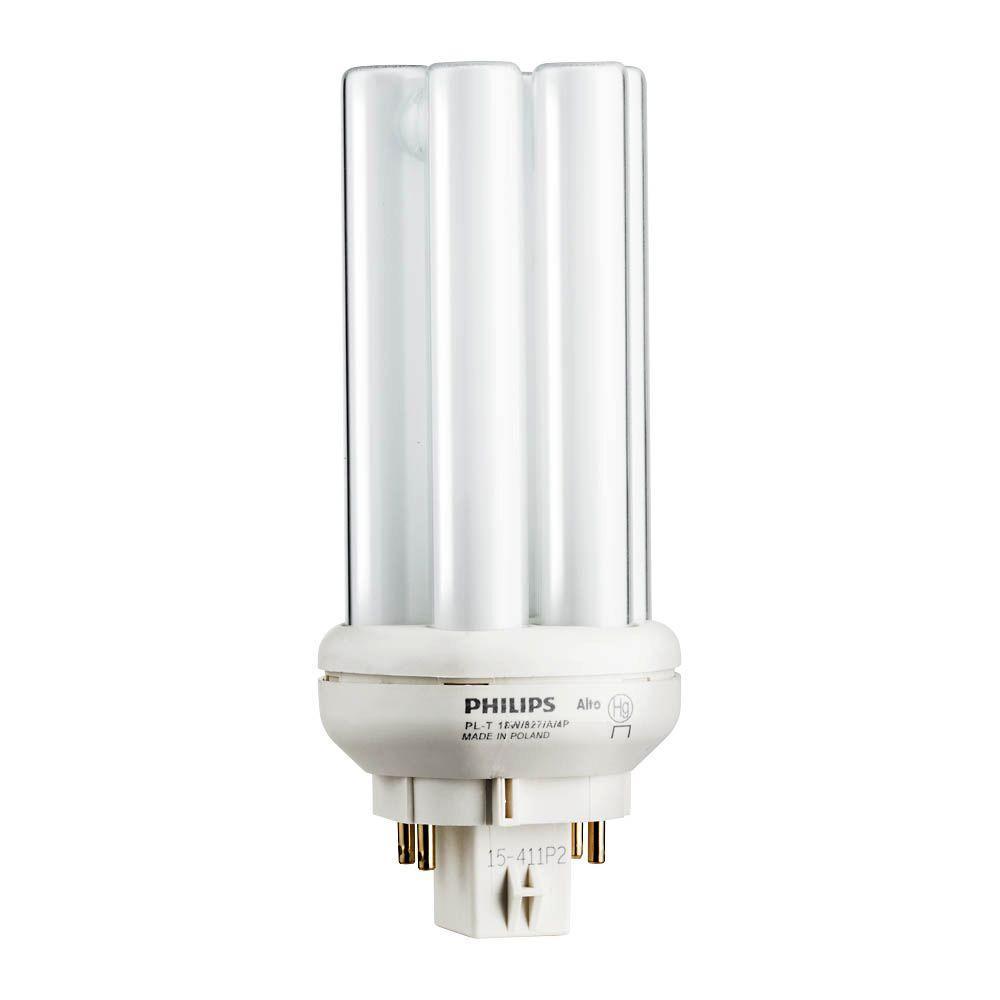 hight resolution of 18 watt gx24q 2 pl t cfl amalgam compact quad tube 4
