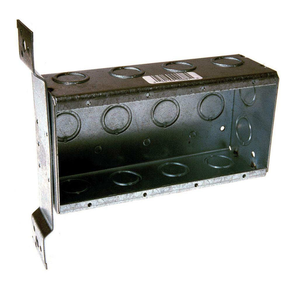 medium resolution of 4 gang welded switch electrical box
