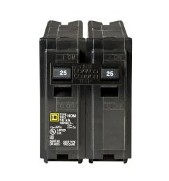 square d homeline 25 amp 2 pole circuit breaker hom225cp the home ethan 200 amp fuse box [ 1000 x 1000 Pixel ]