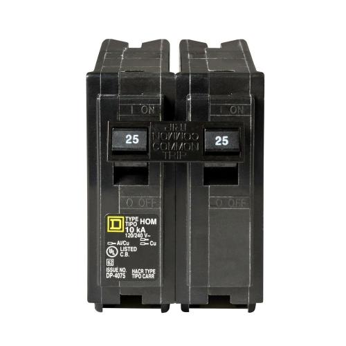 small resolution of square d homeline 25 amp 2 pole circuit breaker hom225cp the home ethan 200 amp fuse box