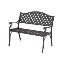 Hampton Bay Legacy Aluminum Patio Bench-C526-62 - The Home ...