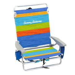 Back Pack Beach Chairs Chair Covers Target Australia Rio Tommy Bahama Striped Aluminum And Fabric 5 Position Lay Flat Backpack