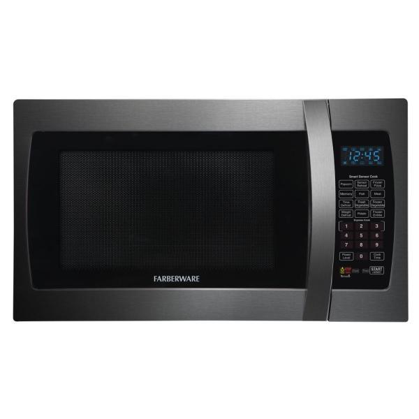Farberware Black 1.3 Cu. Ft. 1100-watt Countertop