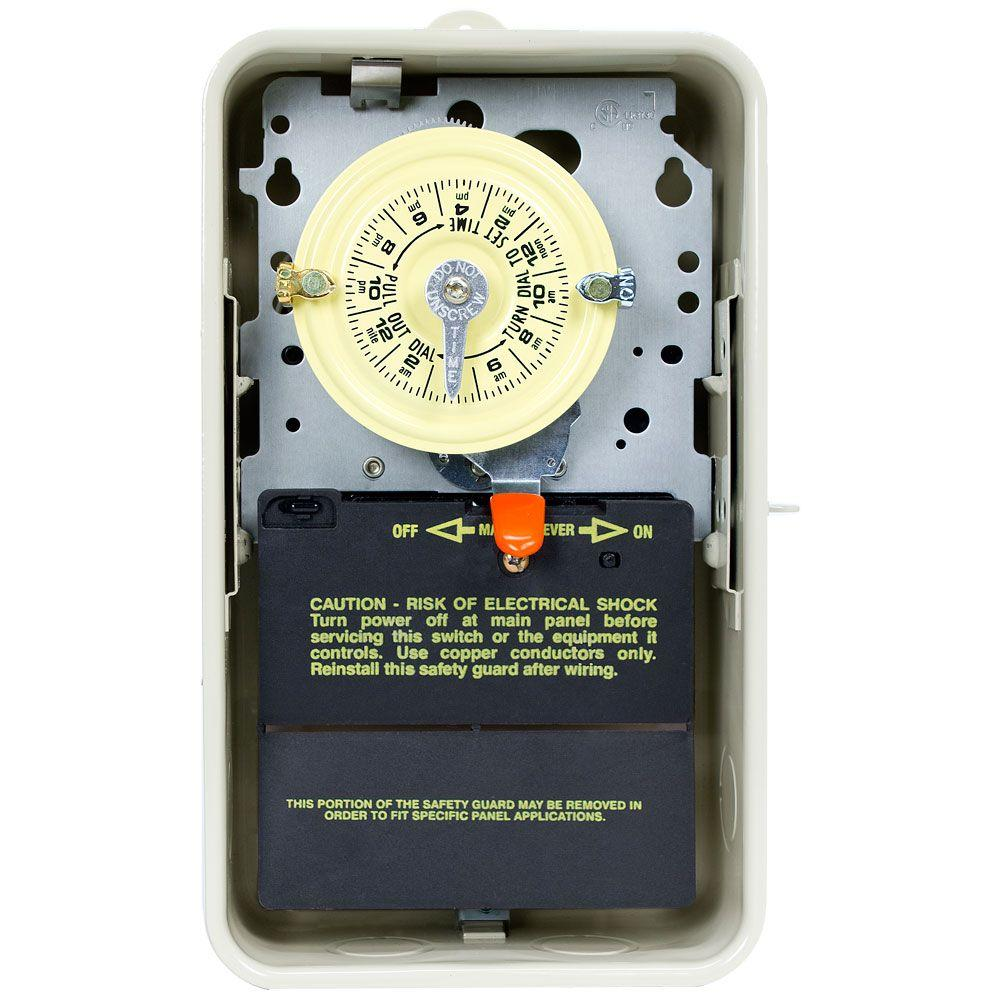 medium resolution of t101r3 40 amp 24 hour mechanical time switch with outdoor steel enclosure