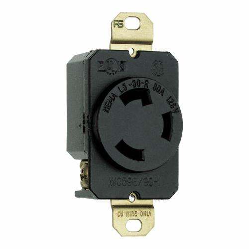 small resolution of turnlok 30 amp single locking single outlet black