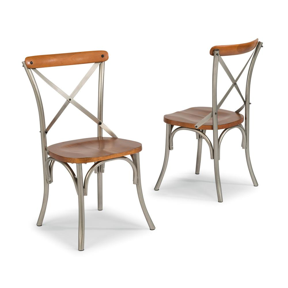 Styles Of Chairs Home Styles Orleans Carmel Cherry Dining Chairs Set Of 2 5061