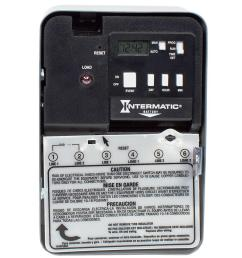 intermatic 30 amp 240 volt dpst electronic water heater time switch [ 1000 x 1000 Pixel ]