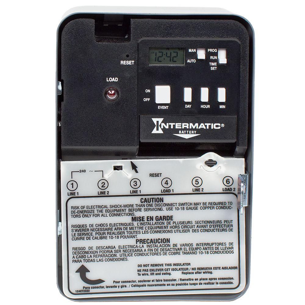 hight resolution of intermatic 30 amp 240 volt dpst electronic water heater time switch30 amp 240 volt dpst electronic