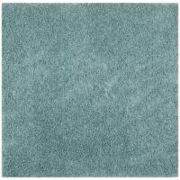 Safavieh Athens Shag Seafoam 6 ft. 7 in. x 6 ft. 7 in