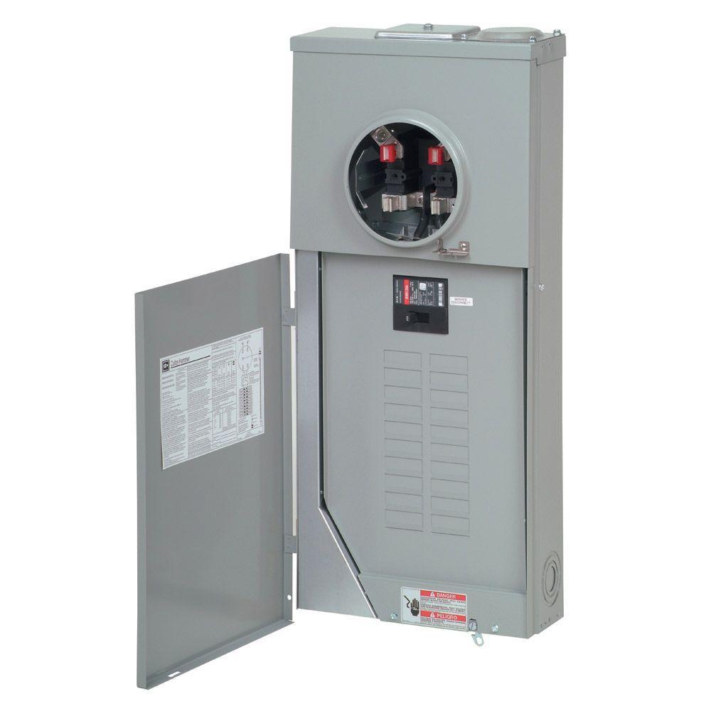 medium resolution of eaton 200 amp 20 space 40 circuit br type main breaker meter breaker