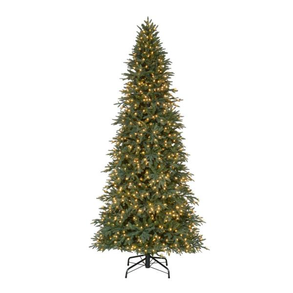 Home Accents Holiday 10 Ft. Pre-lit Led Meadow Fir Quick