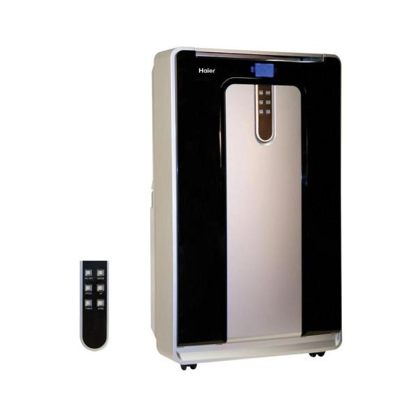 Haier 14 000 Btu Cool And Heat Portable Air Conditioner With 110 Pt. Day Moisture Removal In