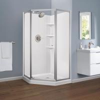 The Home Depot Installed Custom Framed Shower Doors