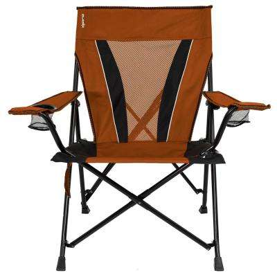 home depot camping chairs with storage rack orange furniture the xxl victoria desert dual lock chair