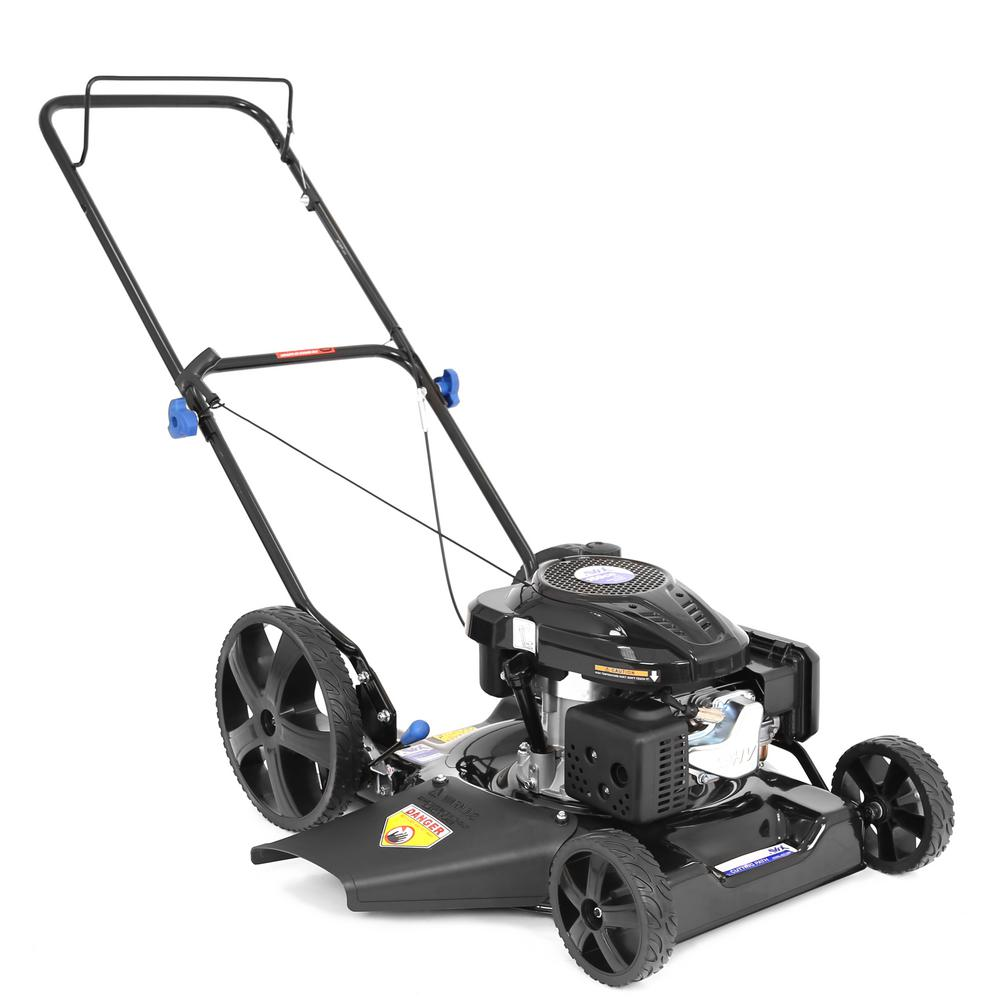 medium resolution of 159cc gas walk behind push lawn mower
