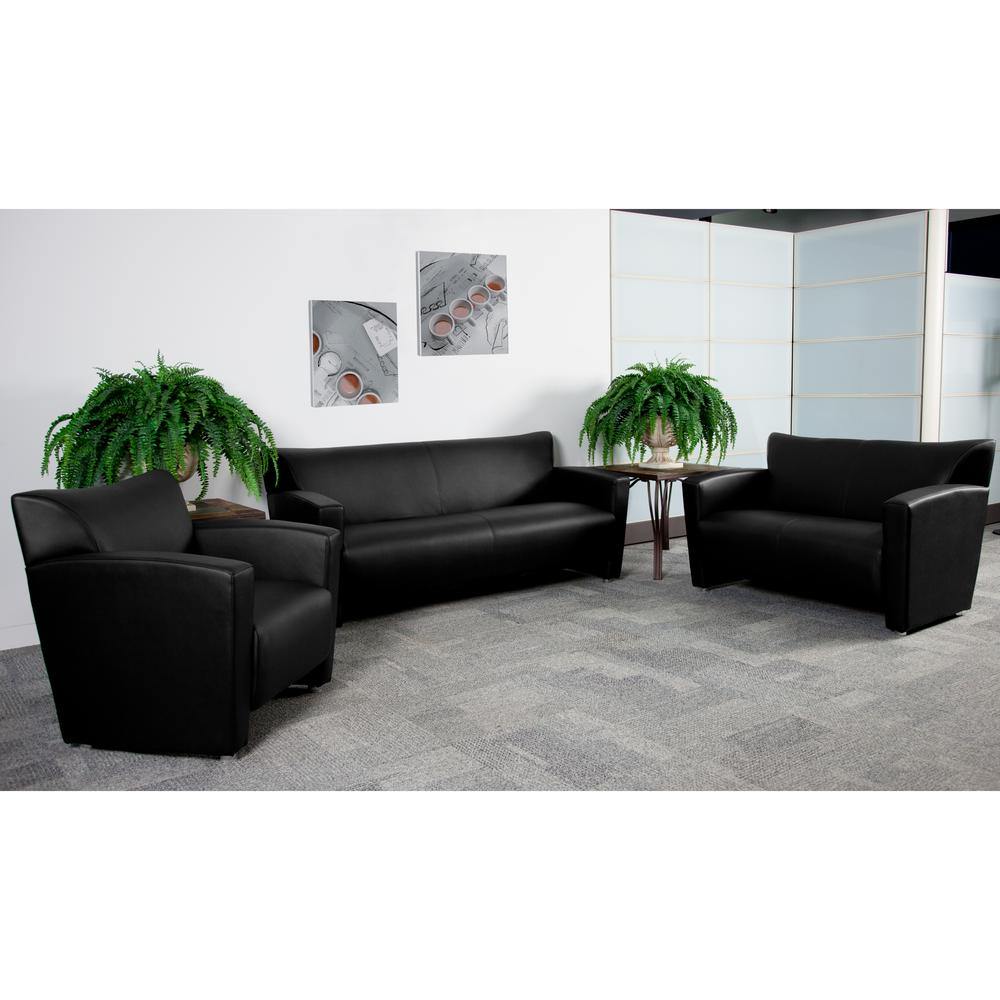 3 piece black leather living room set curtains for small ideas carnegy avenue sets cga bt 8943 bl hd