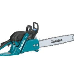 makita 20 in 61cc gas professional rear handle chainsaw [ 1000 x 1000 Pixel ]