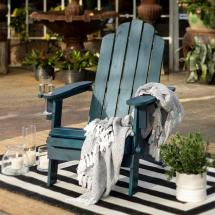 Walker Edison Furniture Company Navy Blue Outdoor Patio