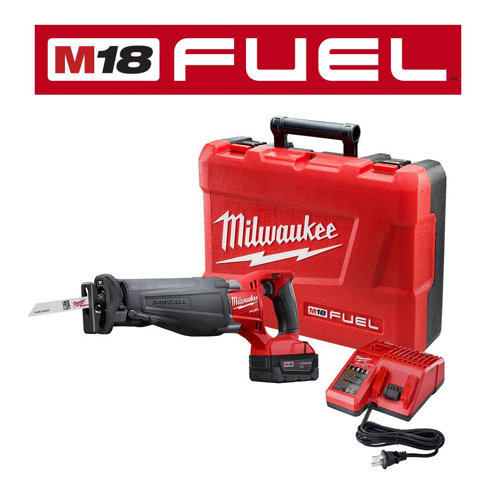 hight resolution of milwaukee m18 fuel 18 volt lithium ion brushless cordless sawzall reciprocating saw kit with