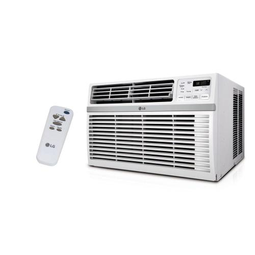 small resolution of 8 000 btu 115 volt window air conditioner with remote and energy star in white