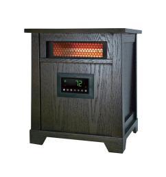 1500 watt 6 element wood infrared portable heater [ 1000 x 1000 Pixel ]
