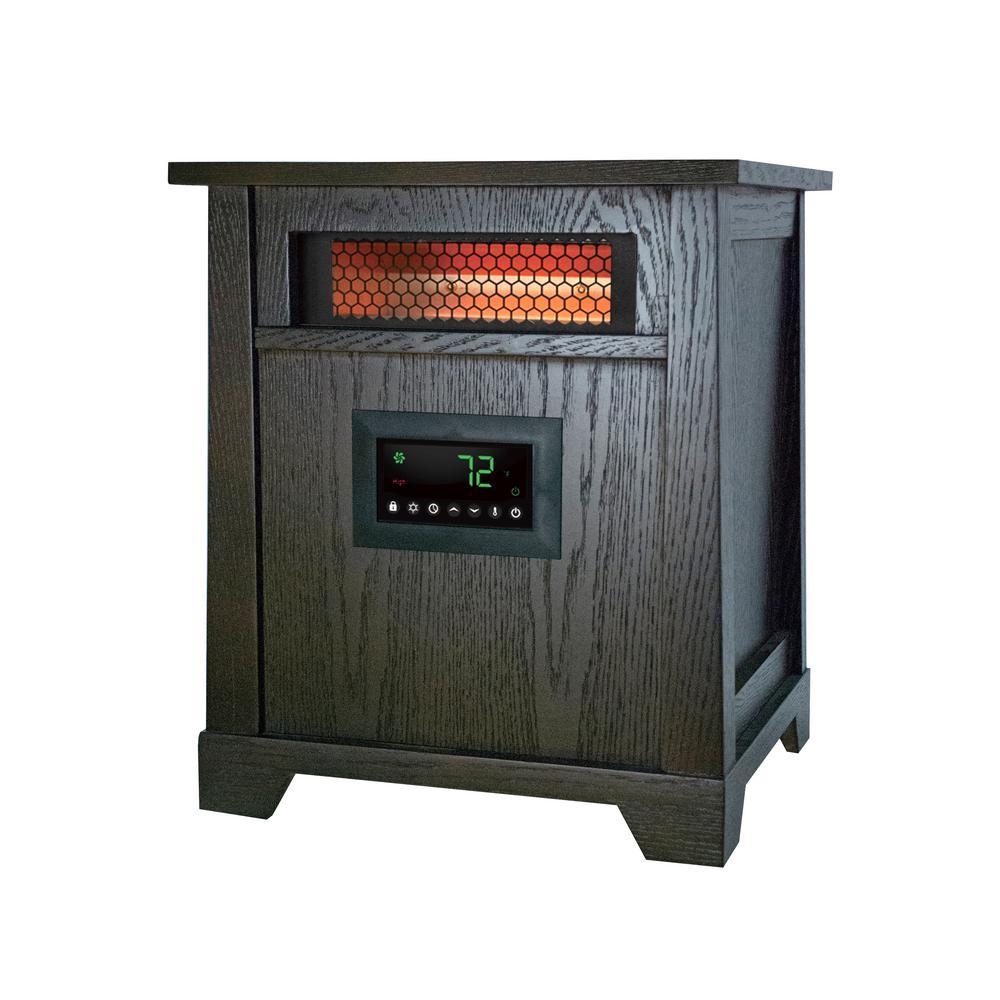 hight resolution of 1500 watt 6 element wood infrared portable heater