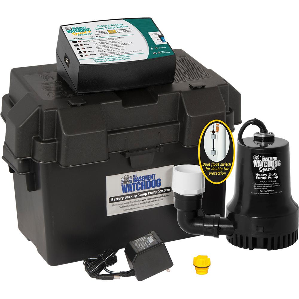 medium resolution of 0 33 hp special battery backup sump pump system