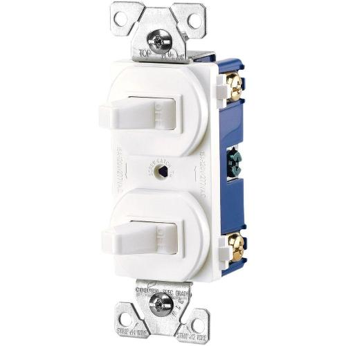 small resolution of  white eaton switches 275w box 64 1000 eaton commercial grade 15 amp combination single pole toggle at